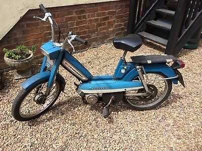 BARN FIND PEUGEOT 103 moped 1 previous owner v5c 50cc