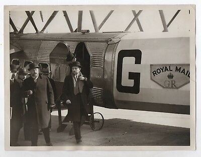 PHOTO Aviation Avion tri-moteur Wibault 1932 Le Bourget Guernier Royal Mail GR