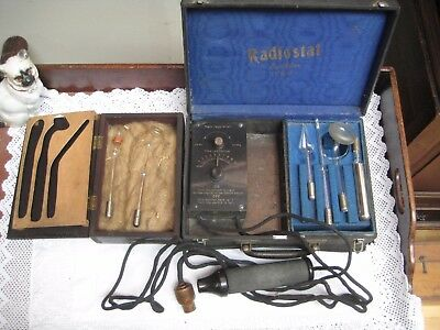 Antique/Vintage Radiostat Electrotherapeutic Device