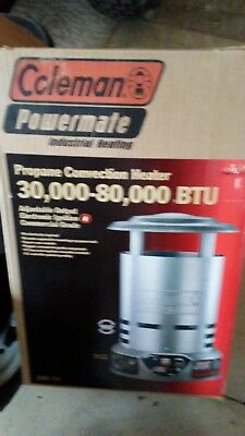 Coleman Propane Convection Construction Heater, Model 5080, 30,000-80-000 Btu