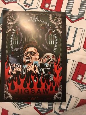 Jigsaw Movie Promotional A4 Poster