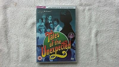 Tales of The Unexpected COMPLETE Eighth SERIES Season 8 DVD RARE NEW SEALED R2