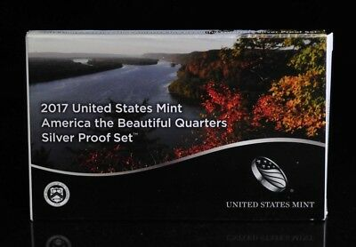 2017 United States Mint America the Beautiful Quarters Silver Proof Set [06DUD]