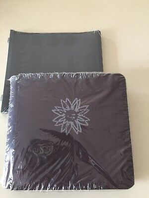 CREATIVE MEMORIES DAISY 7 X 7 ALBUM  BNIP + BLACK PAGES Eggplant Burgundy
