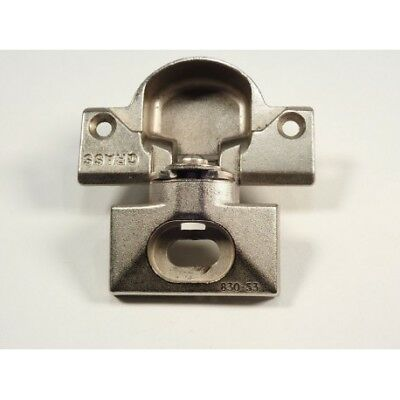 GRASS 830-53 NICKEL Hinge and mounting plate - Complete Hinge