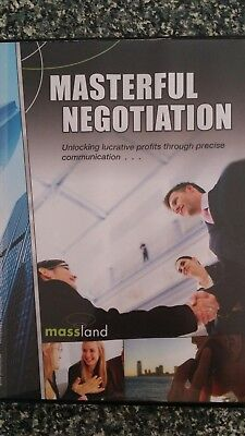 Mark Rolton Masterful Negotiation 8 disk set Massland
