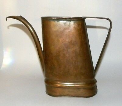 Craftsman Company Vintage Arts And Crafts Hammered Copper Watering Can 345 Nr