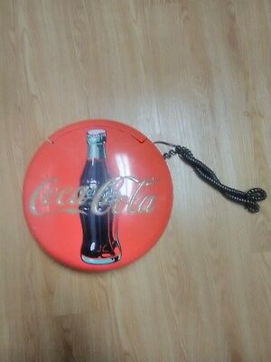 Vintage Coca Cola Telephone Collectible Light-up Phone