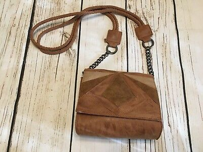 07516c0d4f82 Circus by Sam Edelman Leather Satchel Shoulder Bag Brown New