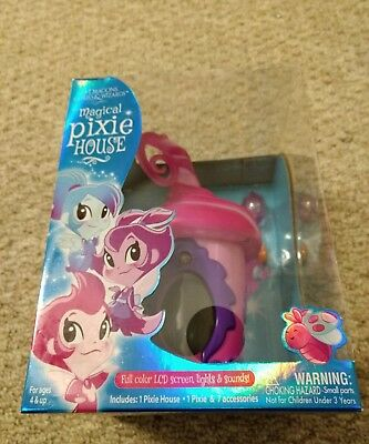 Of Dragons, Fairies & Wizards Magical Pink Pixie House New in Package NWT