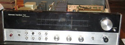Harman Kardon 730 AM/FM Receiver for Parts or Repair