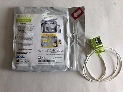Zoll Stat-padz II 8900-0801-01 Multi-function Adult Electrodes- Expired