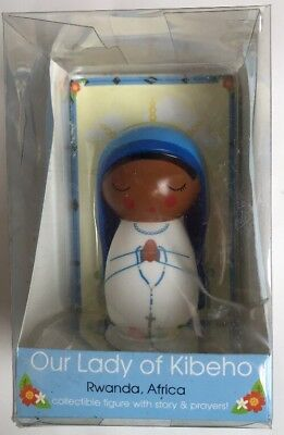 Our Lady Of Kibeho Collectible Doll Figurine   Shining Light Dolls   Virgin  Mary
