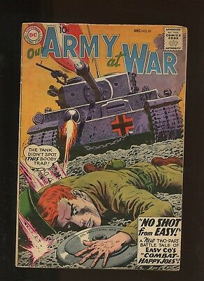 Our Army At War 89 VG 3.5 * 1 Book Lot * Dc! Russ Heath! Jerry Grandenetti!