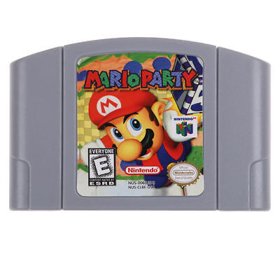 Super Nintendo N64 Video Game Mario Party English Language US Version