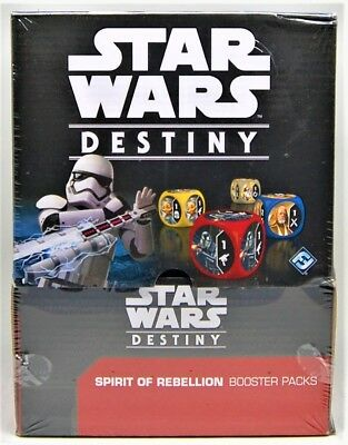 Star Wars Destiny - Spirit of Rebellion Booster Box 36 Count Factory Sealed