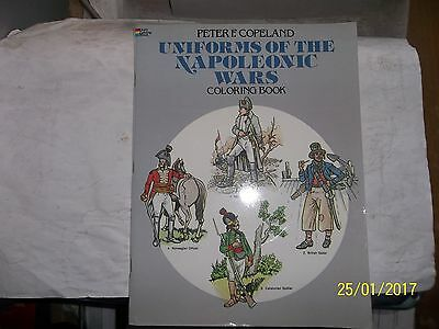 Peter F. Copeland, Uniforms of the Napoleonic Wars, Coloring Book