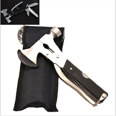 Outdoor Camping Multi-function Emergency Survival Tools Hatchet Axe Hammer