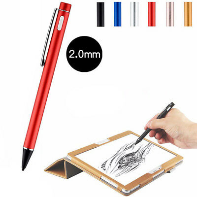 USB Rechargeable Active Stylus Pen Capacitive Touch Screen Pen for Mobile Phone