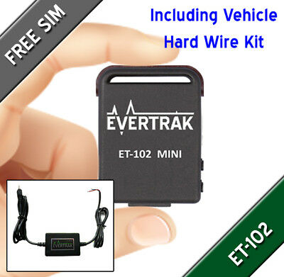 Mini ET102 Magnetic GPS Tracker Package with Hard Wire Kit for Vehicle Tracking