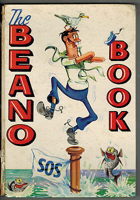 THE BEANO BOOK 1962 vintage comic annual -