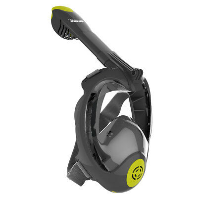 Seabeast Full Face Snorkel Mask 180° Panoramic View Anti-fog for Gopro (Pro-N1)
