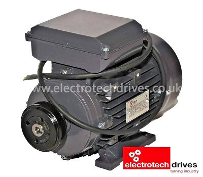 3HP Air Compressor Electric Motor 2.2KW 2800rpm 2 Pole 240v With Pully and Lead