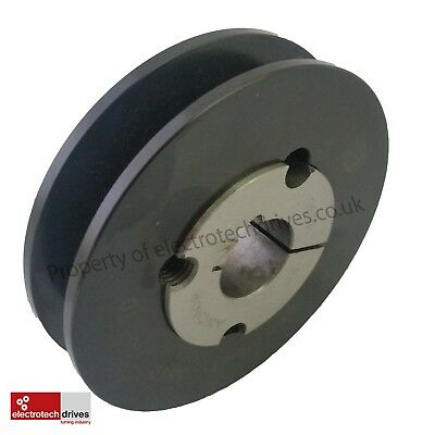SPA/A section V Belt Pulley complete c/w taper lock bush to suit your shaft size