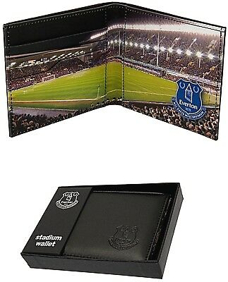 Everton Fc Real Leather Football Sports Team Money Stadium Wallet Purse Efc Gift