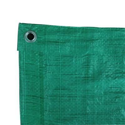 Lightweight Waterproof Army Tarp Tarpaulin Basha Shelter Cover 1.8 x 2.4m Green