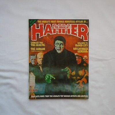 The House of Hammer Magazine No 12 March 1978 Exorcist Two/Gorgon/Blood City
