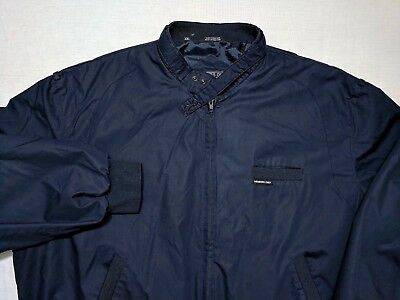 Mens Members Only Blue Vintage Iconic Racer Jacket Sz 2xl 24 99