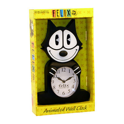 Felix The Cat 3D Motion Animated Wall Clock