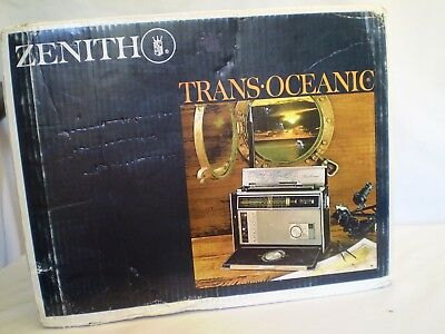 ZENITH TRANSOCEANIC D7000Y-  11 Band NEW IN UNOPEN SEALED BOX