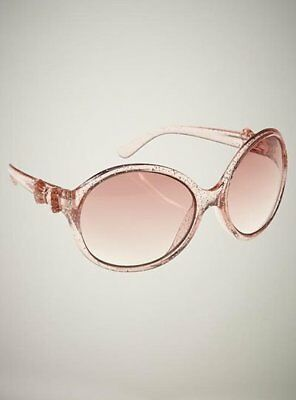 Baby Gap Toddler Girl Pink Glitter Bow Sunglasses NWT!