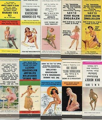 100 Girlie Pin Up Matchcovers - Girlies Pin Ups