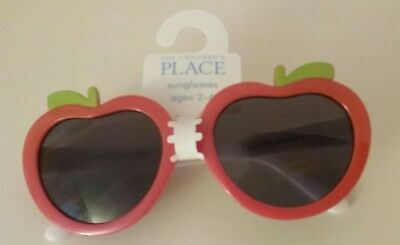 The Children's Place Girl's Apple Sunglasses Size 2-4 NWT!
