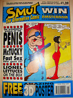 Smut Comic Issue 41 Viz Style Surreal Adult Humour Magazine Good+ March 1994