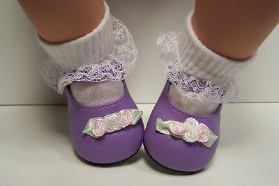 Debs WHITE Toddler-Baby Doll Shoes For Lee Middleton Toddler