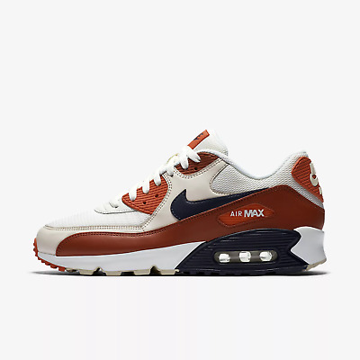 sports shoes 65799 1a8d3 MEN'S NIKE AIR Max 90 Essential Running Shoes - Mars Stone/Vintage  Coral/Desert