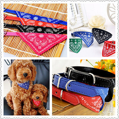 Adjustable Bandanas for Dogs Puppy Pet Products Collars Scarves Accessories ATCA