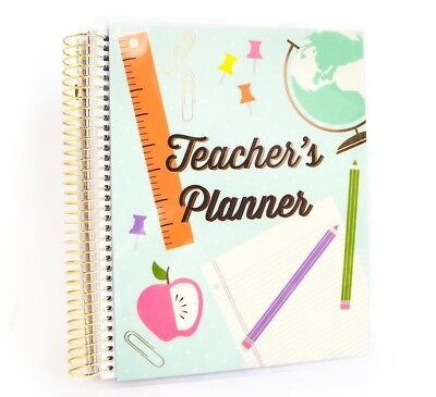 Michaels Recollections Creative Year Spiral TEACHER's Planner 12 Months UNDATED