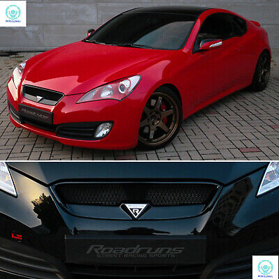 ROADRUNS UNPAINTED REPLACEMENT Radiator Grille for Hyundai Genesis Coupe  09-12