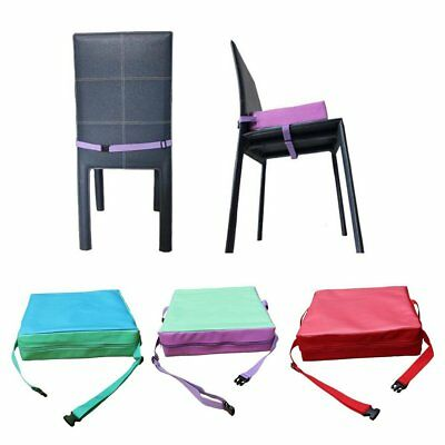 Portable Kids Dining Chair Highchair Booster Cushion Pad Baby Booster Seat CU
