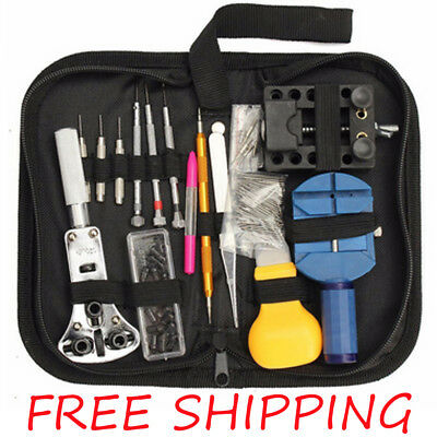 13pcs Watch Repair Tool Kit Changing Remover Screwdriver Tools Professional Tool