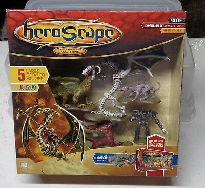 Heroscape Orm's Return Heroes of Laur Expansion Set Box Factory-Sealed 5 Figures