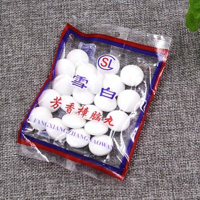 Camphor Ball Insecticide Mildew Insect Repellent Mouldproof Mothproof Home CU