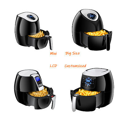 Power Air Fryer Cooker - Four Versions for any Home Kitchen Good With Cookbook