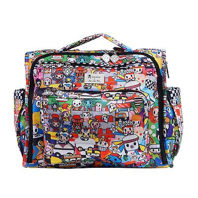 Ju-Ju-Be Tokidoki Collection B.F.F. Convertible Diaper Bag, Sushi Cars