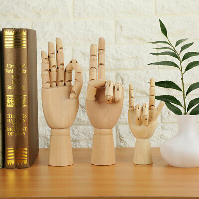 Simple Women Hand Body Artist Model Jointed Articulated Wood Sculpture Mannequin